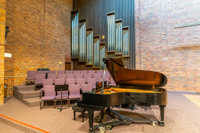 music recital room
